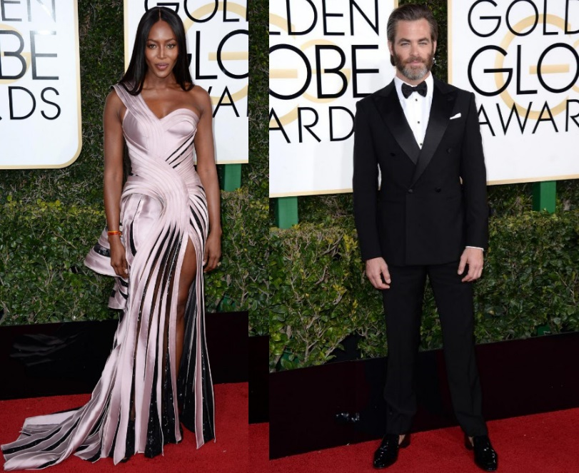 Look più belli Golden Globe 2017