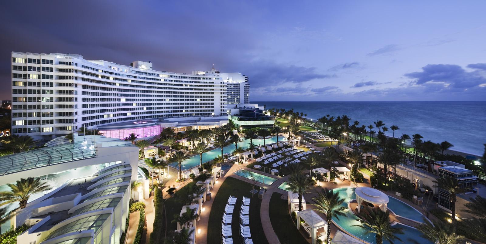 The Fontainebleau a Miami Beach