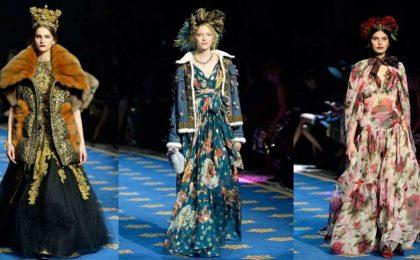 Dolce & Gabbana porta l'Alta Moda del 2017 nei Laboratori del Teatro La Scala di Milano [FOTO]