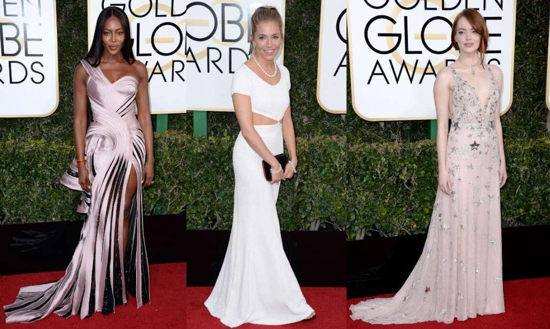 Golden Globe 2017, abiti e gioielli delle star che hanno sfilato sul red carpet [FOTO]