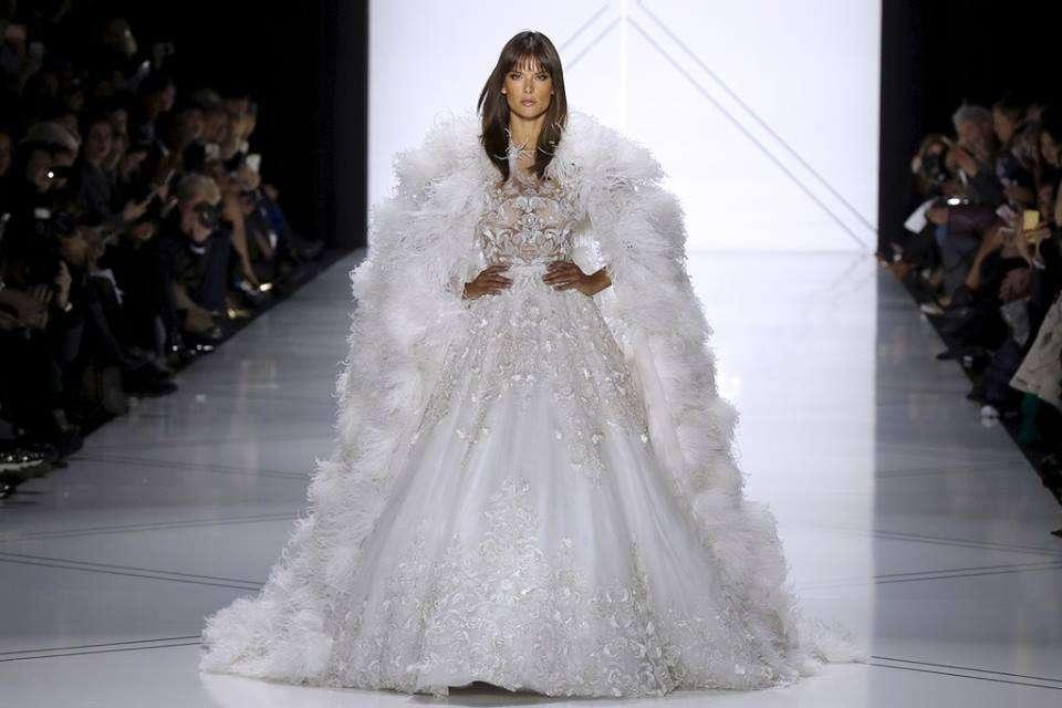 Gli abiti da sposa Haute Couture 2017 dalle passerelle di Parigi, i look più romantici per la Primavera-Estate [FOTO]