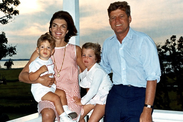 Caroline e John Kennedy