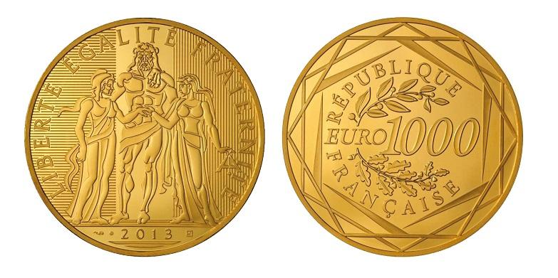 Euro commemorativi Francia