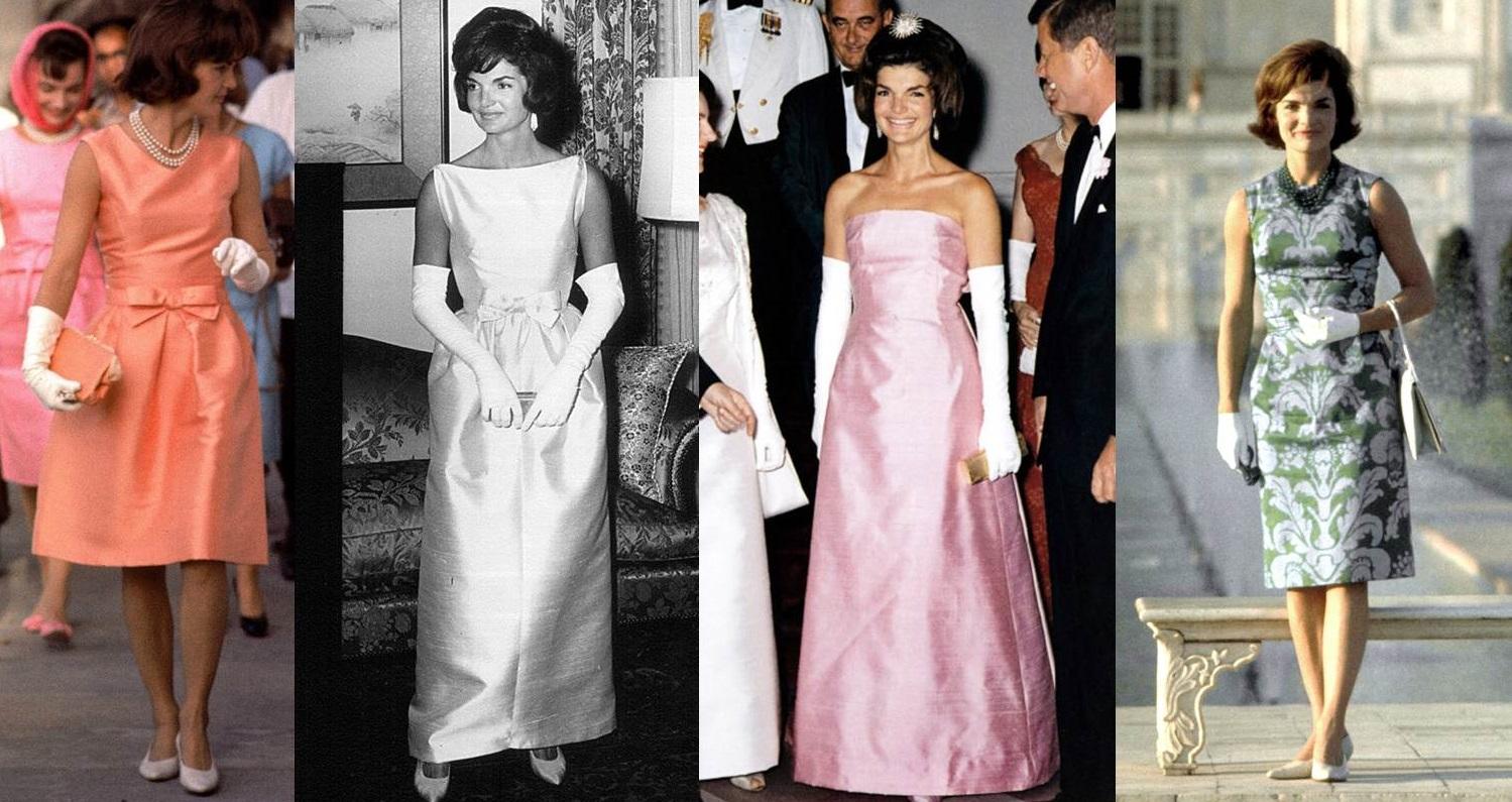 Gli abiti di Jackie Kennedy