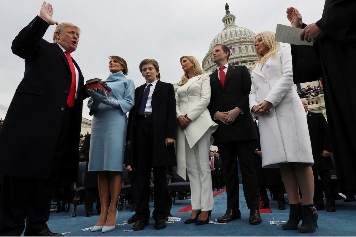 Trump, il giorno dell'insediamento del 45mo presidente degli Stati Uniti