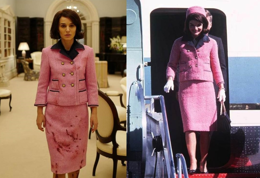 Jackie Kennedy con tailleur rosa