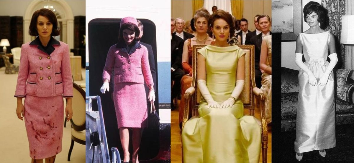 Jackie Kennedy e Natalie Portman a confronto