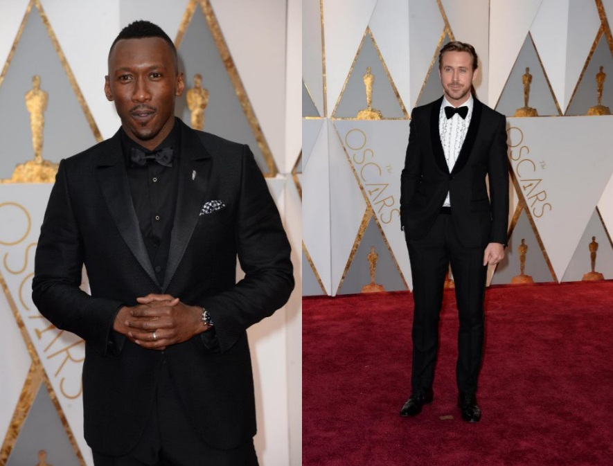 Look maschili Oscar 2017