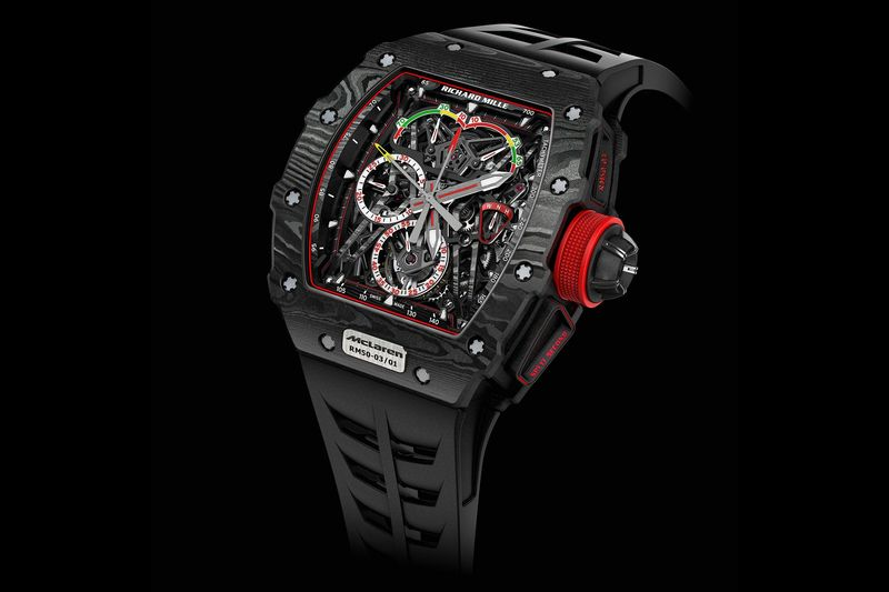 Richard Mille RM 50 03 Tourbillon Split Seconds Chronograph Ultralight McLaren F1