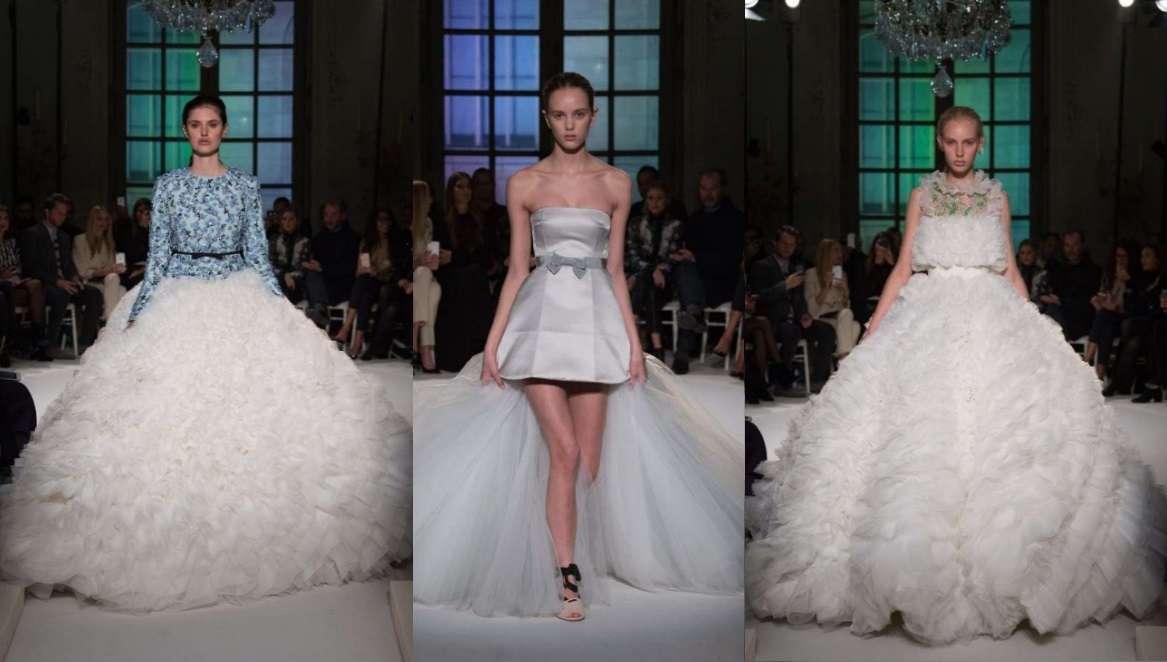 Gli abiti da sposa di Giambattista Valli per il 2017, l'Haute Couture per dire sì [FOTO]