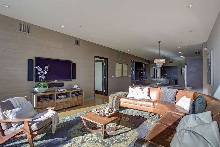 Il lussuoso penthouse di Ty Burrell