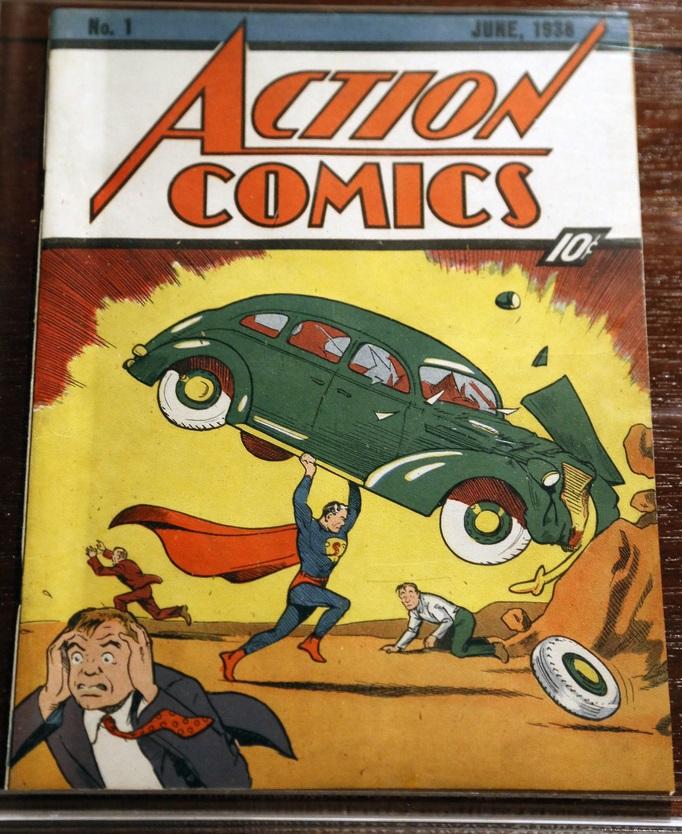 Action comics numero1