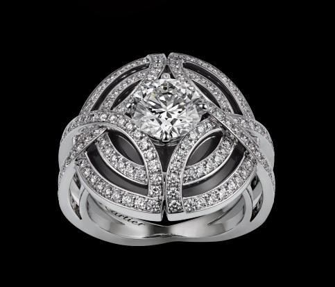 Anelli preziosi con diamanti 2017