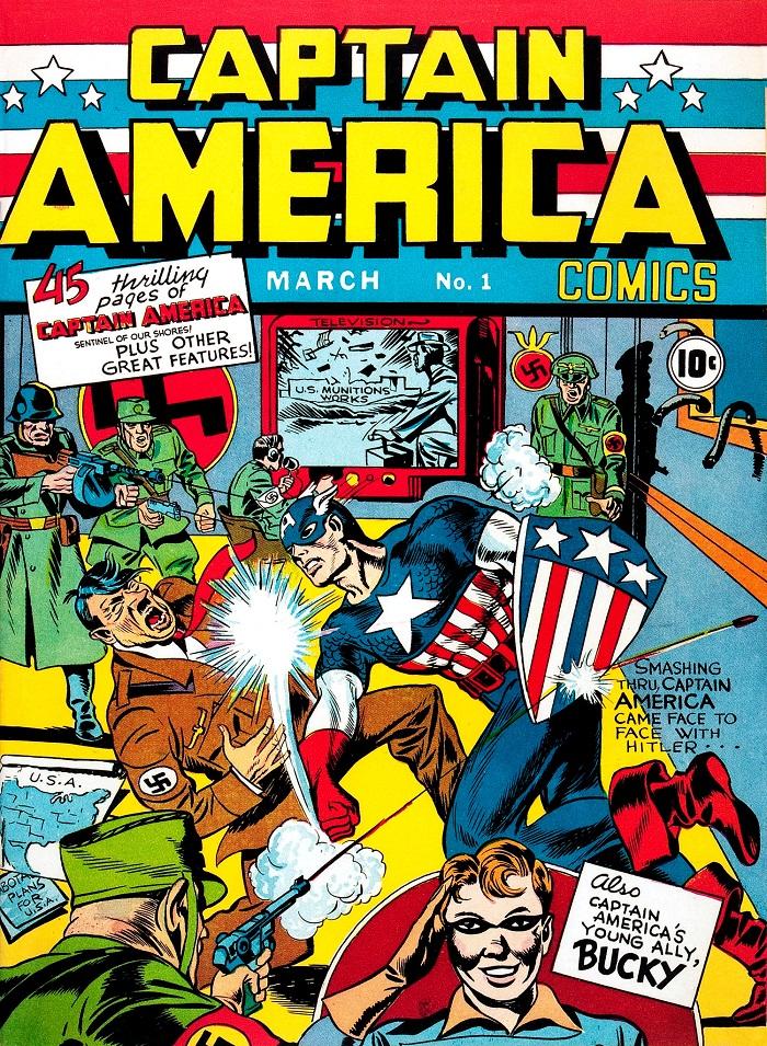 Captain america numero1