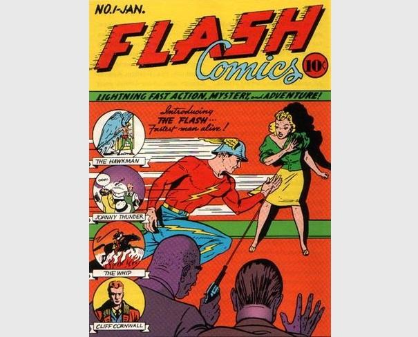 Flash Comics Numero1