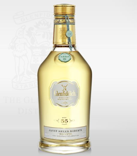 Glenfiddich Janet Sheed Roberts Reserve 1955 whisky