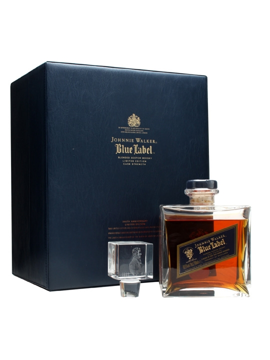 whisky Johnnie Walker Blue Label Anniversary Pack