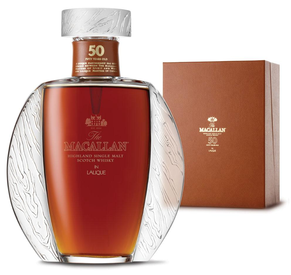 Macallan Lalique whisky