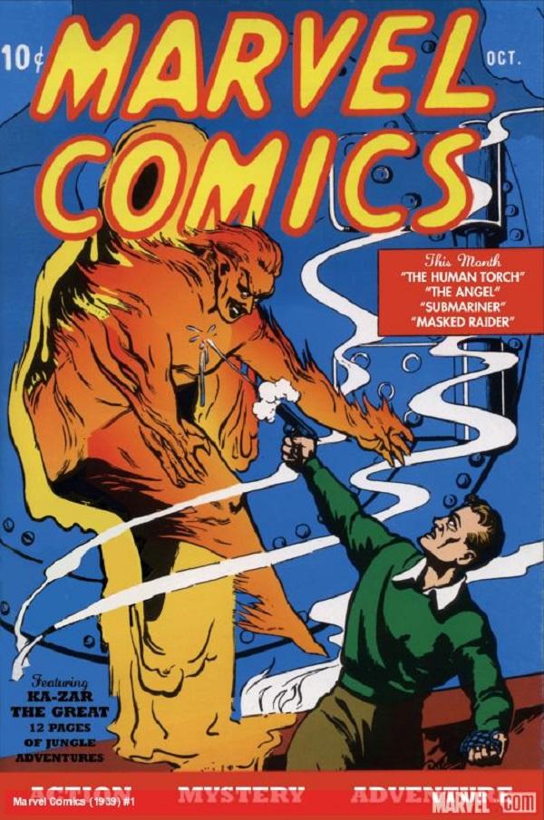 Marvel Comics Numero1
