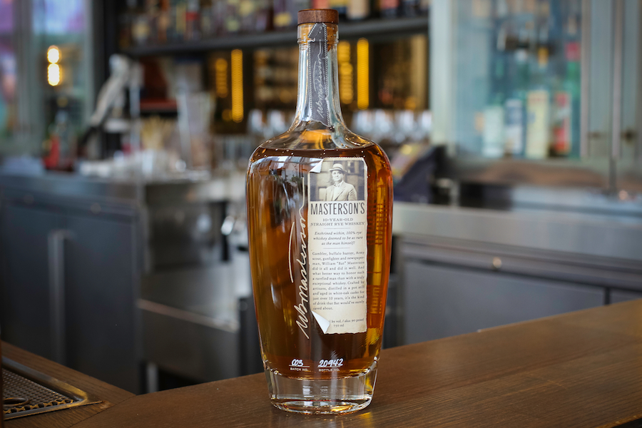 Masterson s 10 Year Old Straight Rye
