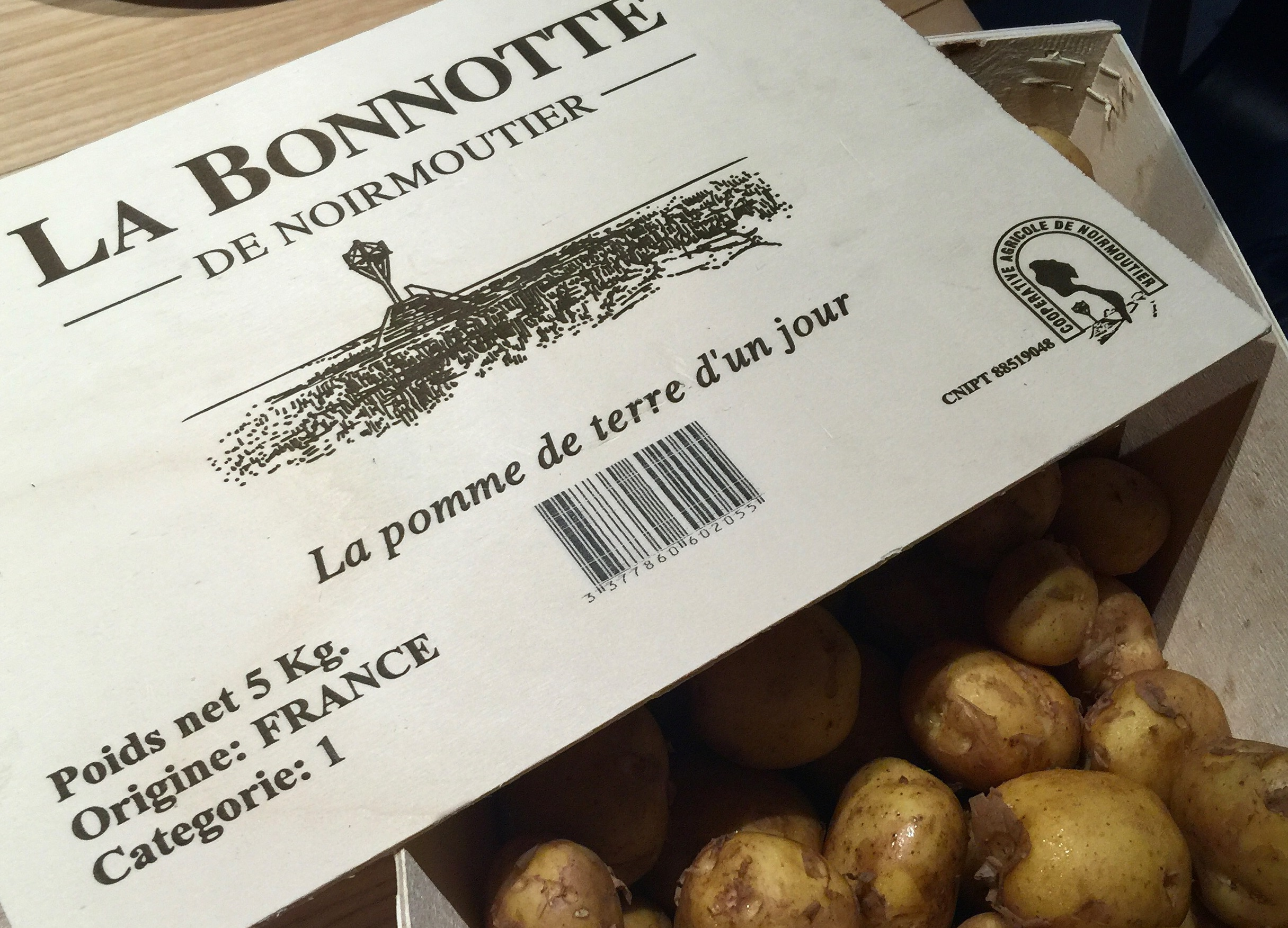 Patate bonnotte