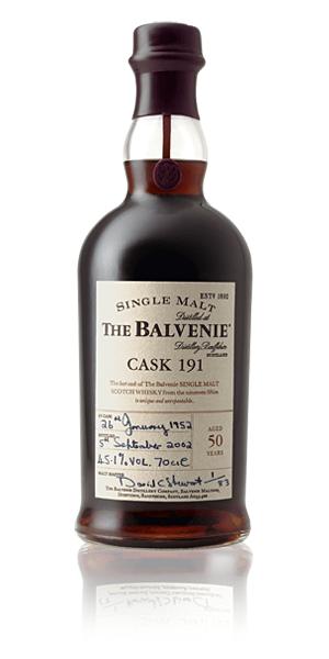 The Balvenie Cask 191 whisky