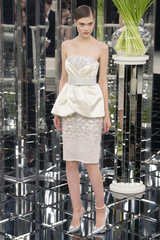 Vestito elegante corto Chanel