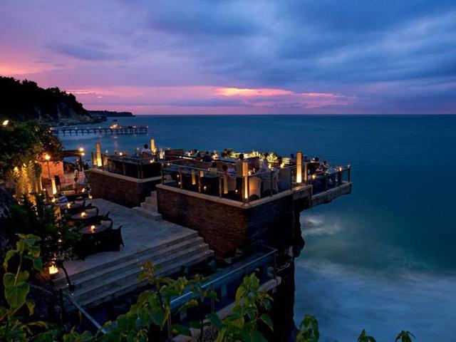 bar terrazza Rock Bar_Bali