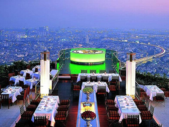 bar terrazza Sky Bar at Sirocco_Bangkok