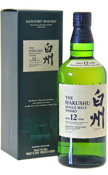 hakushu 12yo whisky