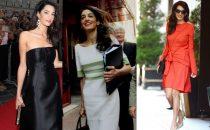 Amal Alamuddin, lo stile e i look più belli della moglie di George Clooney [FOTO]