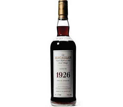 macallan fine and rare 1926 whisky