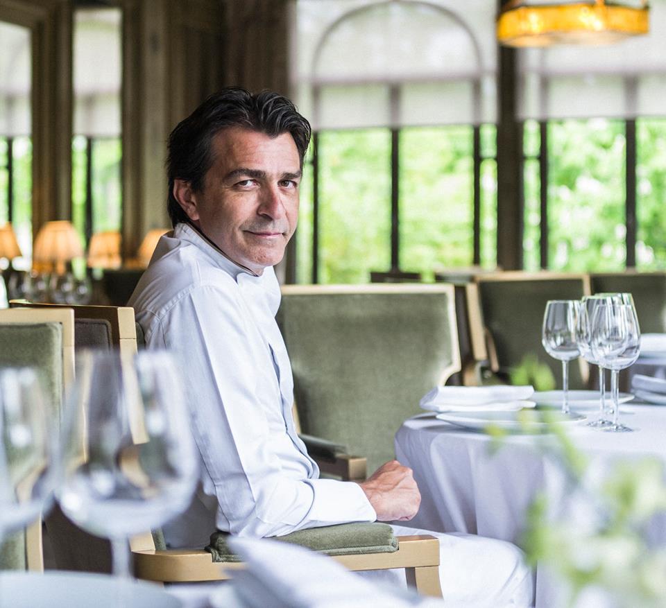 migliori chef del mondo Yannick Alleno