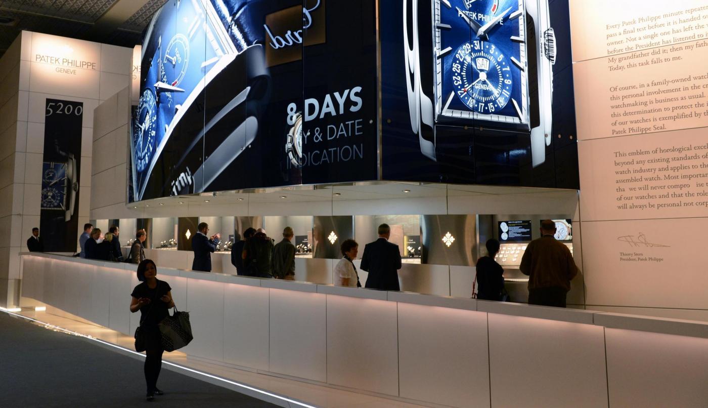 Baselworld fiera degli orologi a gioielli a Basilea