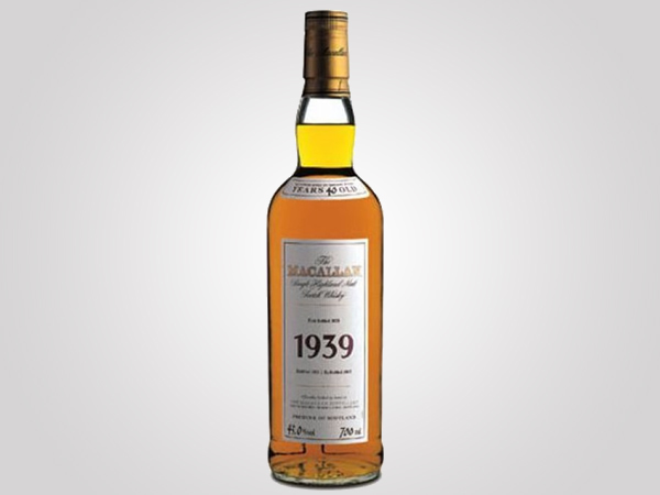 the macallan fine rare collection whisky