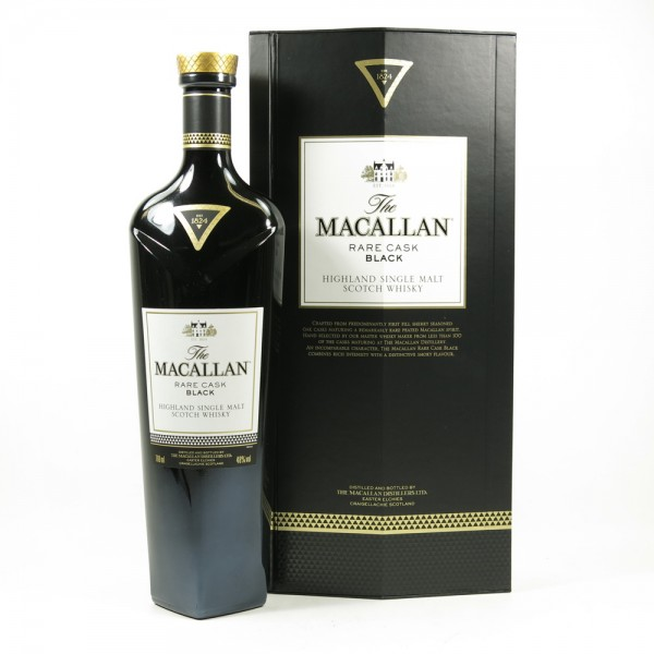whisky macallan black