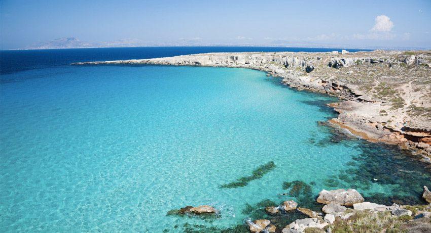 Cala Rossa, Favignana, Egadi – Sicilia spiagge più belle d'italia
