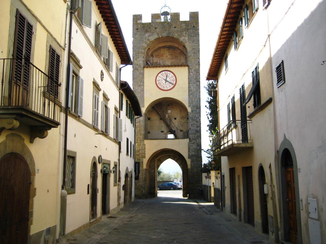 Castelfranco Piandiscò, il borgo
