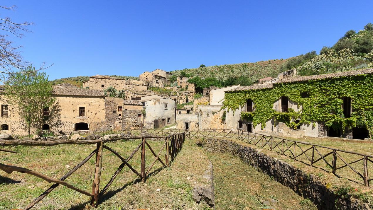 Il borgo abbandonato Cunziria