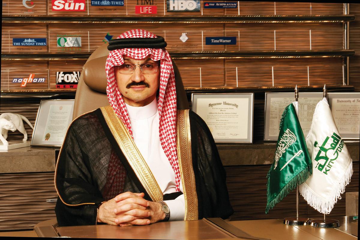 Principe Al waleed bin Talal Alsaud dell'Arabia Saudita