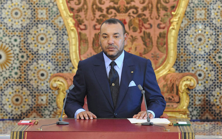 Re Mohammed VI del Marocco