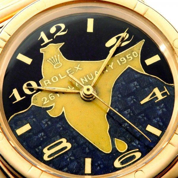Rolex Oyster oro Dr Rajendra Prasad