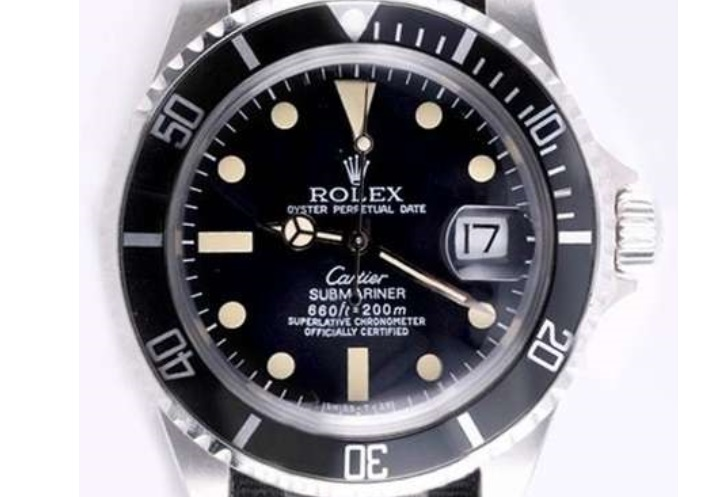 Rolex Submariner per Cartier