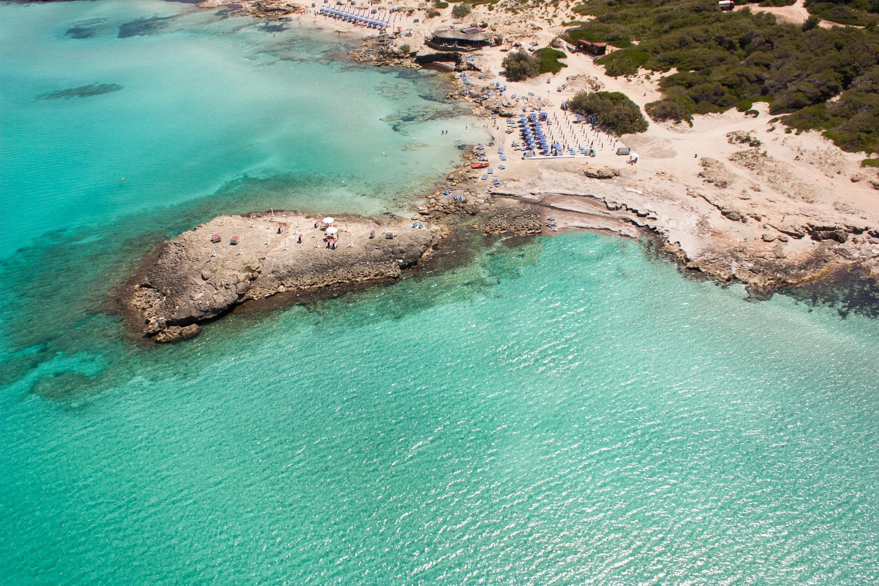 Spiaggia di Punta della Suina Puglia