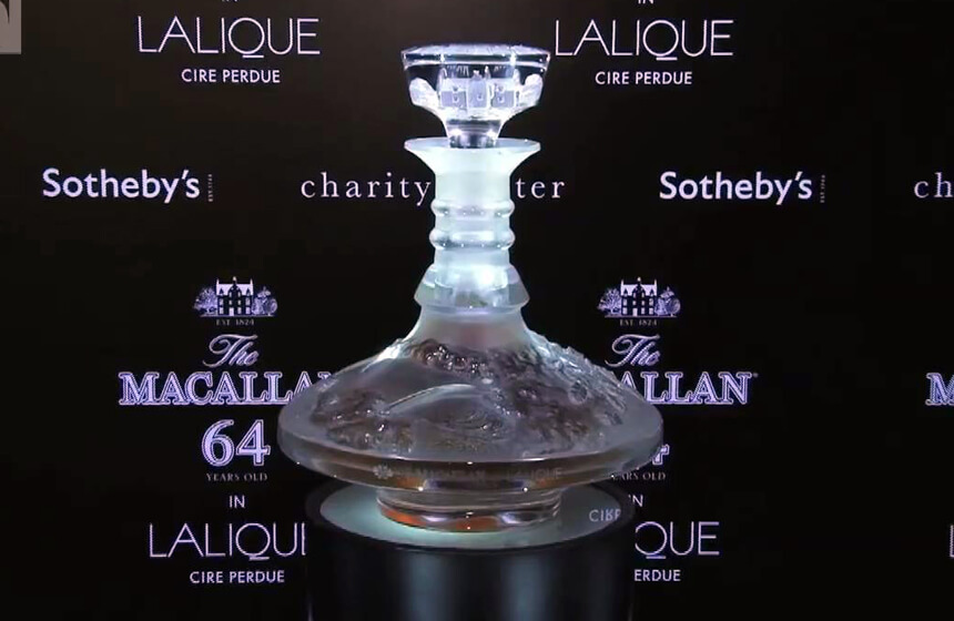 The Macallan 64 year old in Lalique