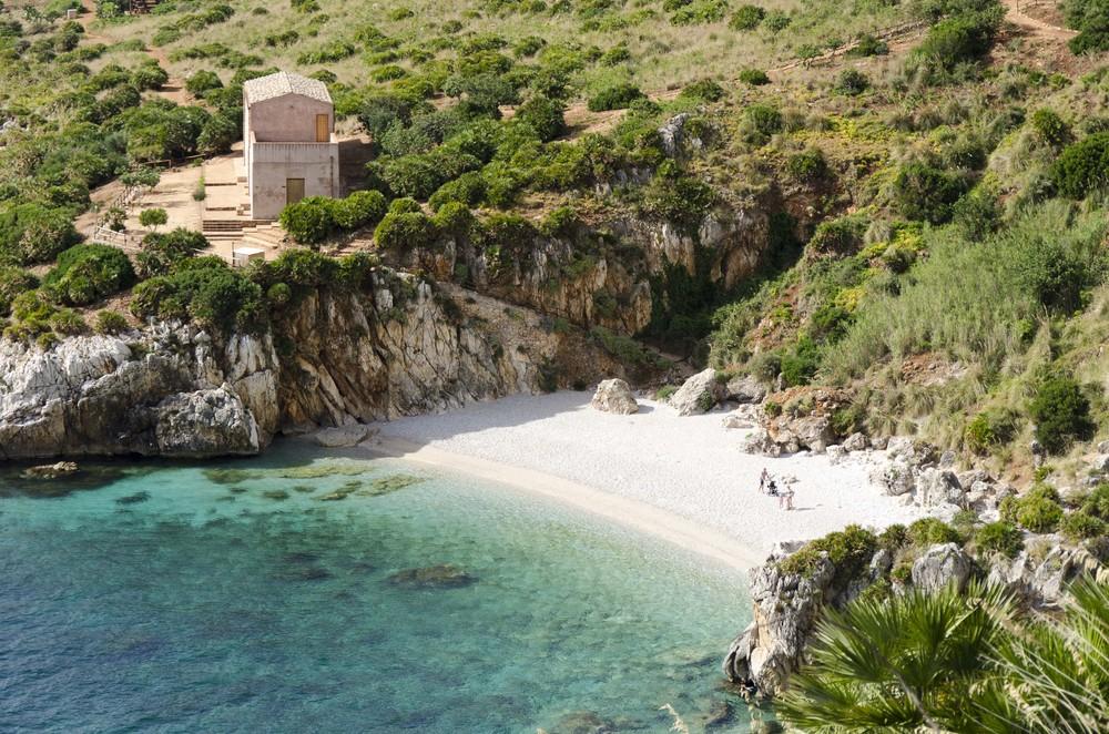 Tonnarella dell'Uzzo, Riserva Naturale dello Zingaro, Trapani spiagge più belle d'italia