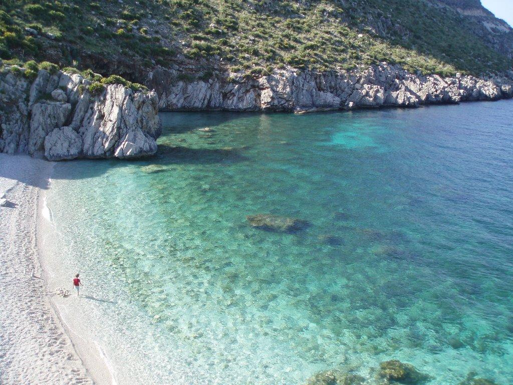 Tonnarella dell'Uzzo, Riserva dello Zingaro, Trapani – Sicilia spiagge più belle sud italia