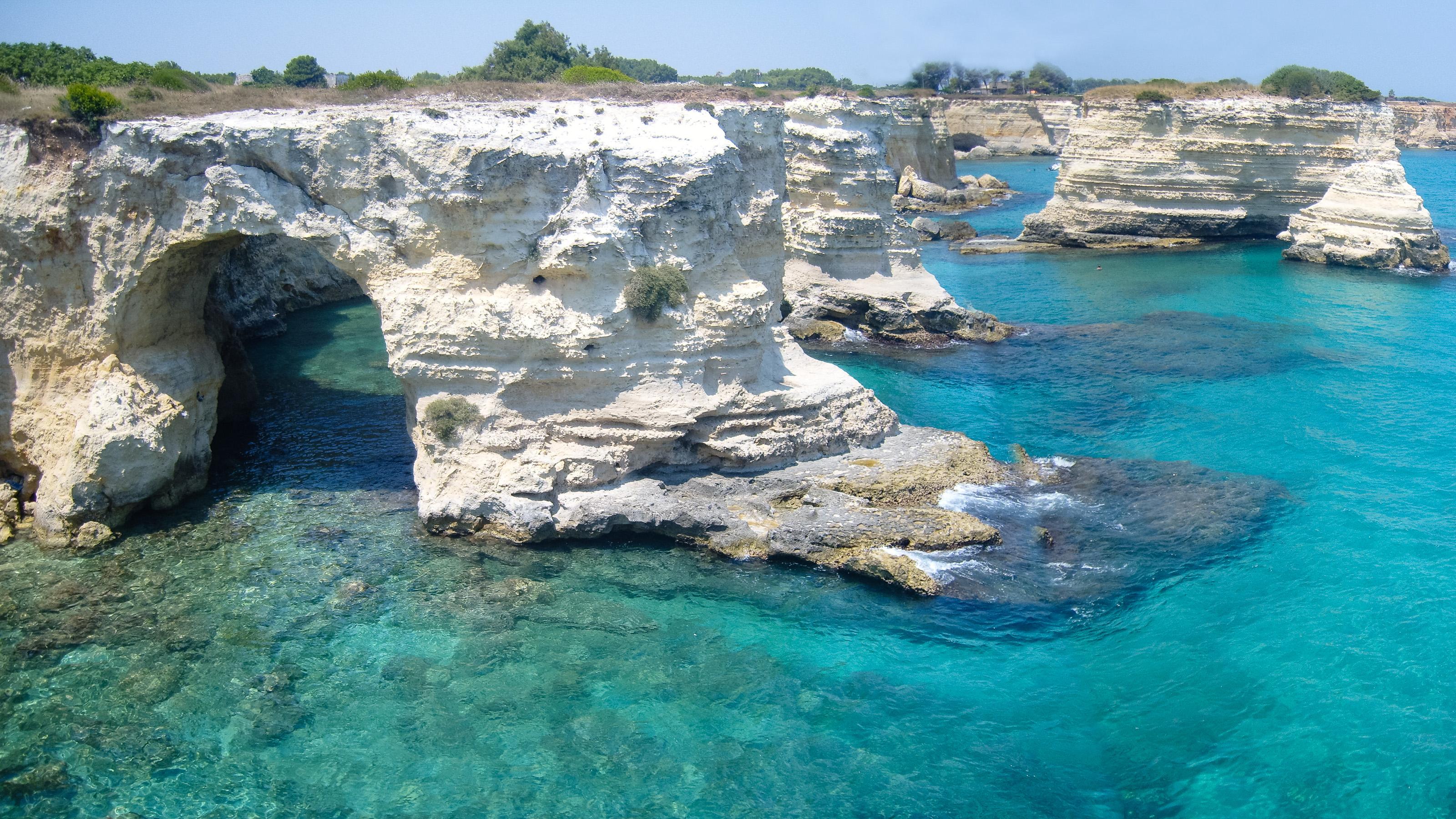 Torre Sant'Andrea lecce spiagge più belle d'italia