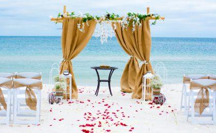 Matrimonio in spiaggia: 8 location in Italia per il tuo sì