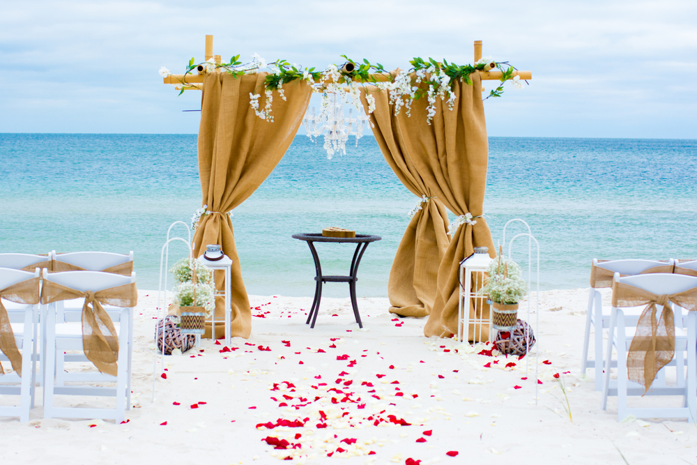 location matrimonio spiaggia italia